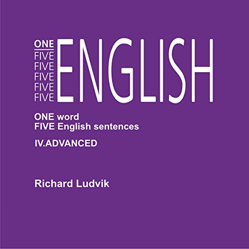 One Five English Advanced audiobook cover art