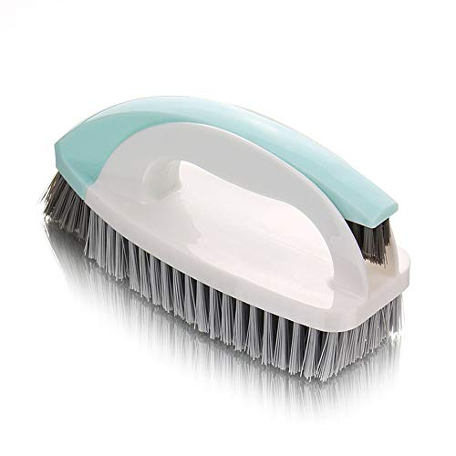 Ritte Cepillo de Mano, 2 en 1 Multifuncional Plegable Desmontable Cuarto de Baño Cepillo Conjunto con Accesorio Cepillo, Limpiar el Cepillo