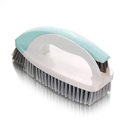 Reinigungsbürste, 2 in 1 Schrubben Putzen Reinigen Handbürste Haushalt Küche Stabile Reinigungsbürste mit Griff Verstärkten Borsten
