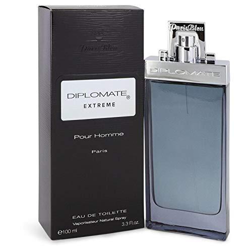 Diplomate Pour Homme Extreme by Paris Bleu Eau De Toilette Spray 3.4 oz Men