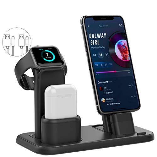 Conido 3 in 1 Charging Stand Compatible with iWatch, AirPods & iPhone $13.39 (50% Off)