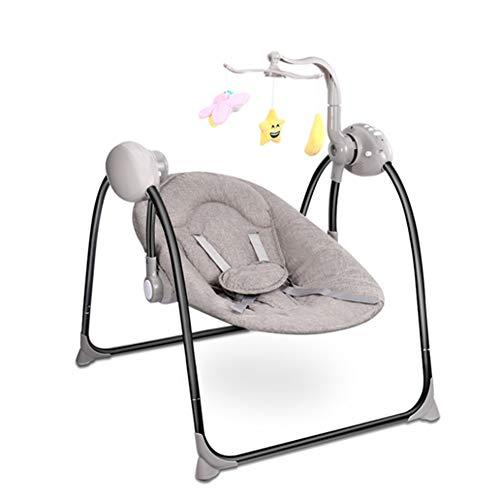 Baby Bouncers & Rockers met muziek en opknoping speelgoed opvouwbare elektrische stoel afstandsbediening Bed Baby Bouncer Baby Swing
