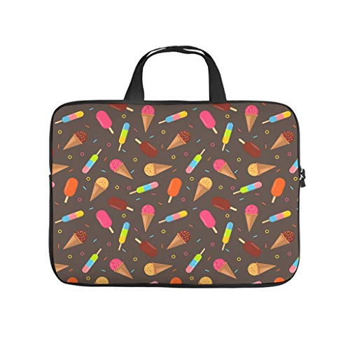 Sweateis Laptop Bag Dustproof Laptop Briefcase Pattern Notebook Bag for University Work Business