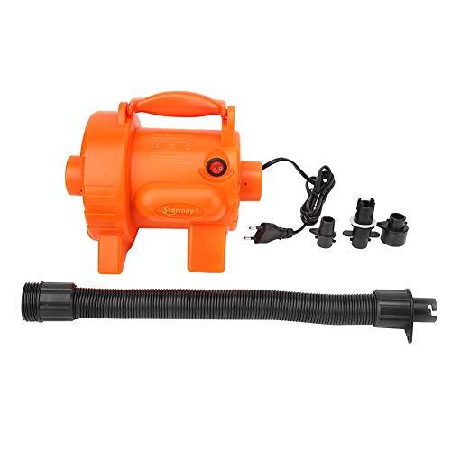 Keenso Bomba de inflado eléctrica, HT-302A Bomba de Aire eléctrica 800W AC Canoa Kayak Bomba neumática para Piscina de Barco neumático 220-240V