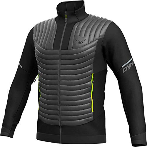 DYNAFIT M Elevation Hybrid Jacket Colorblock-Grau-Schwarz, Herren Jacke, Größe XL - Farbe Magnet