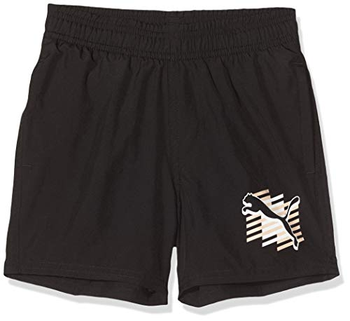 PUMA Jungen ESS+ Summer Cat B Shorts, Black, 140