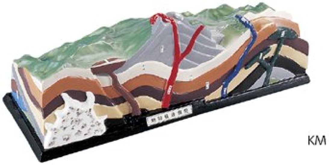 ここに上がるダイジェスト火山地質模型 KM