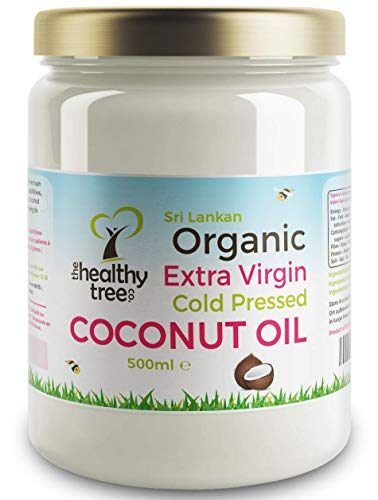 Organic Extra Virgin Coconut Oil by TheHealthyTree Company - for...