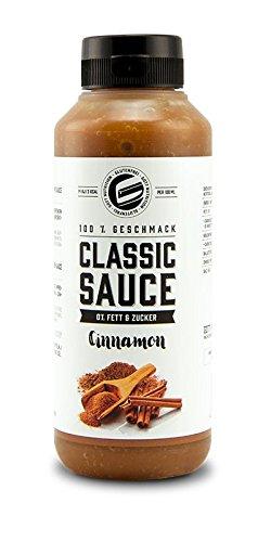 Got7 Classic Sauce Soße Salatsoße Grillsoße Perfekt Zur Diät Abnehmen Fitness Bodybuilding 265ml (Zimt)