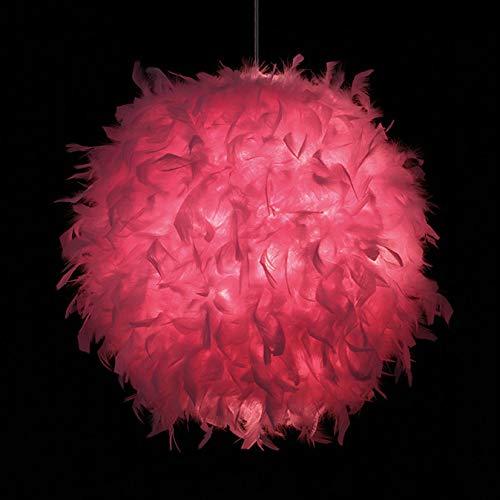 LTJT-MR Schlafzimmer Kinderzimmer Dekoration Ausstellungshalle Persönlichkeit Mode Einfach Weiß Rosa Rosa Rot Badminton Beleuchtung Kronleuchter,2