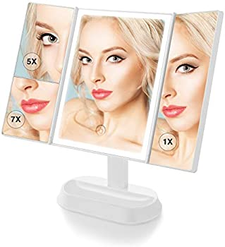 BeautyPad Trifold LED Makeup Mirror