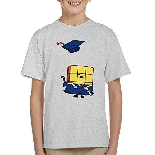 Cloud City 7 Graduation Day Rubiks Cube Kid's T-Shirt
