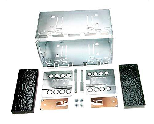 CARAV 14-X04 autoradio inbouwframe metalen schacht universeel 2-DIN 180 x 113mm