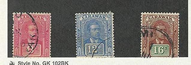 Sarawak, Postage Stamp, 60, 64, 65 Used, 1918-22, JFZ