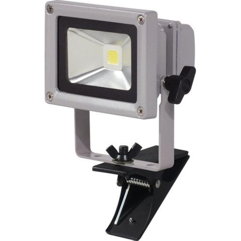 噴出するずんぐりしたアマチュア日動 LED作業灯 10W クリップ式 LPR-S10C-3M 投光器(LED)