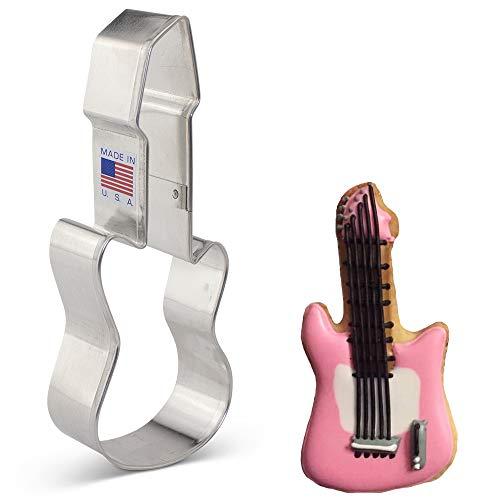 Ann Clark Cookie Cutters Cortador de galletas instrumento de rock / guitarra...