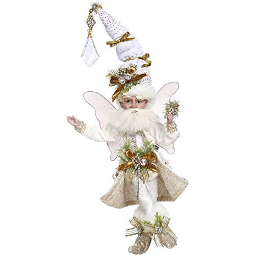 Mark Roberts 2020 Limited Edition Collection Snowy White Fairy Figurine, Small 9.5'' - Deluxe Christmas Decor and Collectible