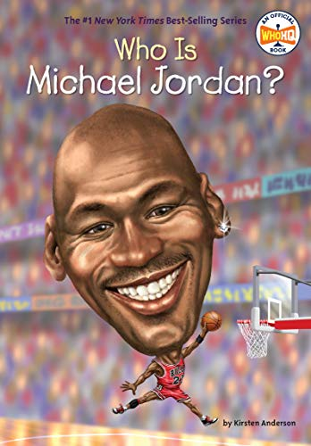 Book's Cover of Who Is Michael Jordan? (Who Was?) (English Edition) Versión Kindle