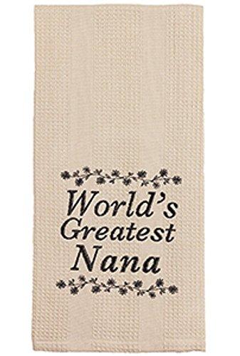 World 's Greatest Nana toalla de plato, 19'x 28'
