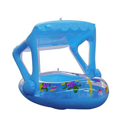Gcxzb Schwimmreifen BOOL Aufblasbarer Ring Schwimmenring Baby Schwimmsitz Kinder Mount Rettungsring Wasser Aufblasbares Spielzeug Nette Blaue Kreativen Wimming Pool