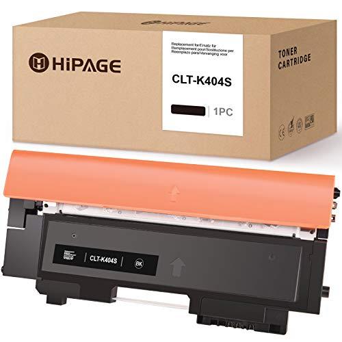 HIPAGE CLT-P404C - Cartucho de tóner compatible para Samsung CLT-P404C CLT-404S CLT-K404S CLT-C404S CLT-M404S para Samsung Xpress C430 C430w C480w C480fn C480fw C480 (negro)