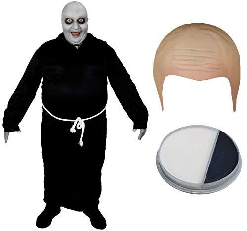 I LOVE FANCY DRESS LTD Glatze, EITERNDEN Onkel KOSTÜM EINSCHLIESSLICH Kahler Hut UND GESICHTSFARBE GOTISCHES FAMILIENGUT FERNSEH- UND FILMCHARAKTER Halloween KOSTÜME