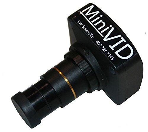 LW Scientific MIniVid 5.1MP USB 3.0 Microscope Camera for Mac or PC, BLACK MVC-U5MP-USB3