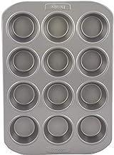 Prestige Carbon Steel Deep Muffin Tin 12-Cup, Gray PR57127