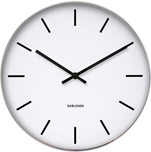 Karlsson Oversized Modern Wall Clock - Unique & Contemporary Big Wall...