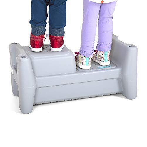 Simplay3 Sibling Step Stool – 2 Height Step Stool