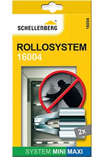 Schellenberg 16004 Seguro de fijación para persianas, seguridad para ventanas