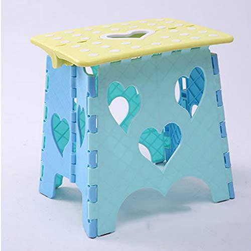 CKH Kinder-kunststof klapstoel verdikking volwassenen outdoor klapstoel comfortabel thuis kruk creatieve kruk