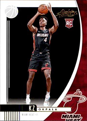 2019-20 Panini Absolute Retail #49 KZ Okpala Miami Heat Rookie Basketball Card