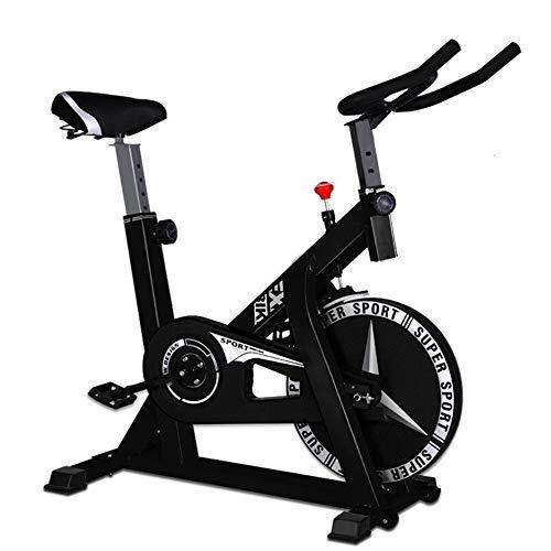 XJWWW-URG Asiento Regulable, Cubierta Ciclismo Bicicleta estática, la Bici de Ejercicio con el Ritmo cardíaco, Suave y silencioso Sistema de Correa de transmisión URG