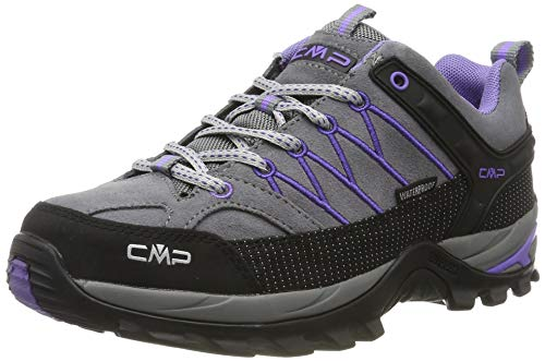 CMP Damen Rigel Low Wmn Shoes Wp Trekking, Grau (Grey-Lapis 36ud), 41 EU