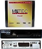 M@tec Digital FTA 007 Récepteur Satellite numérique avec récepteur Satellite (HDTV,S/S2, HDMI,...