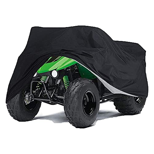 Cushion 210D ATV Cover Impermeable a Prueba De Viento Oxford Heavy Duty Quad Bike Cover Outdoor Motocicleta Scooter Fundas con Bolsa De Almacenamiento