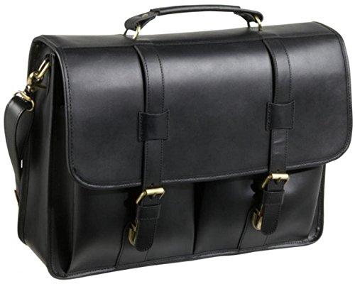 amerileather leather briefcases Leather Executive Briefcase - Black