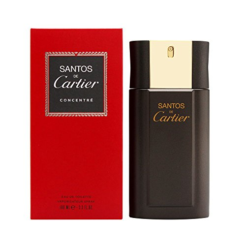 Santos De Cartier By Cartier For Men Concentrate Edt Spray 3.3 Oz (Packaging May Vary)