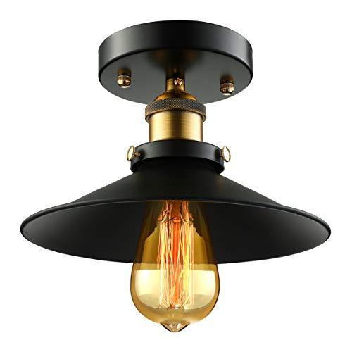 BAYCHEER Retro Vintage Deckenlampe Deckenleuchten Wohnzimmerlampen küchenlampen für LED Glühmlampe (Deckenleuchte)
