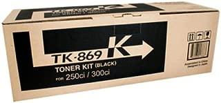 Kyocera TK-869K Genuine Black [20K Page] Toner Kit