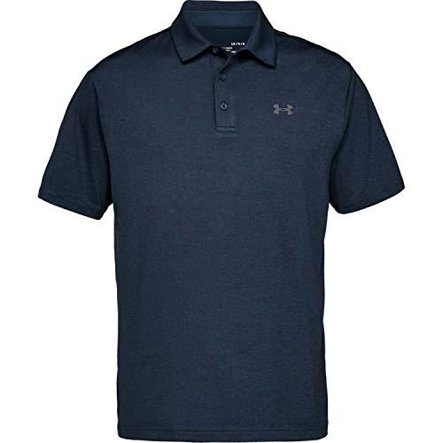 Under Armour Playoff 2.0 Polo de Golf, Hombre, Azul (Academy/Pitch Gray-408), L