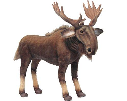 Peluche Alce Moose 47x55x28 cm Peluches Hansa PS 07552