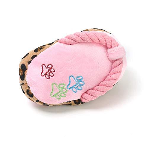 Sylvialuca Haustier Spielzeug Liebe Blume Bunte Baumwolle Seil Hausschuhe Teddy als Bär Hund Vokal Hund Backenzähne Plüsch Hundespielzeug