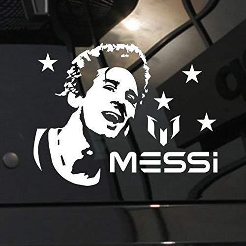 FC Barcelona Lionel Messi retrato fútbol deportes fútbol estrella jugador Auto coche ventana vidrio pegatina vinilo pared calcomanía niño Fans decoración del hogar Mural