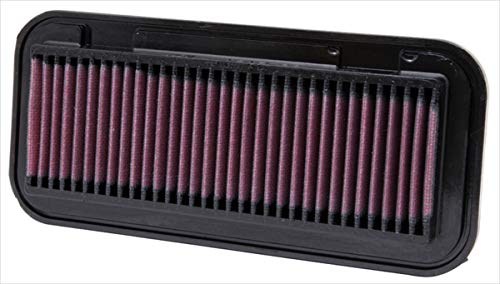 K&N 33-2131 Motorluftfilter: Hochleistung, Prämie, Abwaschbar, Ersatzfilter, Erhöhte Leistung, 1999-2014 (Sirion, Boon, F3DM, C1, 107, Aygo, Yaris, Belta, Ractis, Vitz)