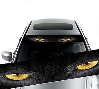 Ocamo 3D Transparent Car Front Windscreen Windshield Window Decal Vinyl Sticker Style 3