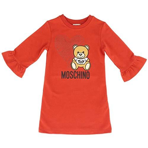Moschino Bambina HDV081 LDA16 Red Abito Inverno 5 Anni