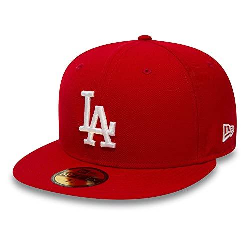 New Era Los Angeles Dodgers 59fifty Cap MLB Basic Red/White - 7 5/8-61cm