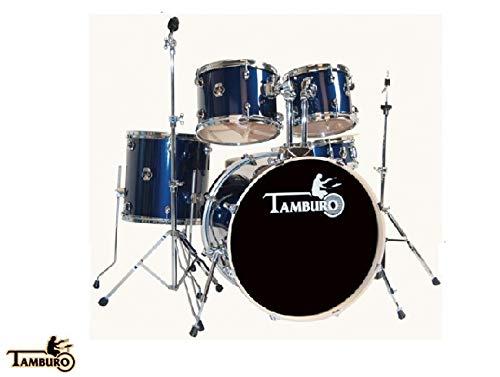 Batería acústica Tamburo Plus T5P20 BLSK Blue Spark